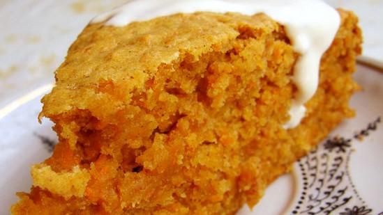 Домашний морковный пирог