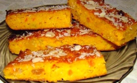 Морковный пирог вкусный рецепт в духовке