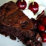 Рецепт шоколадного пирога с вишнями
