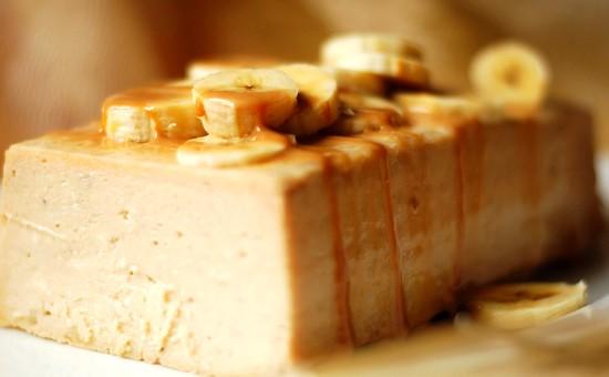 Творожно-банановый пирог - чизкейк