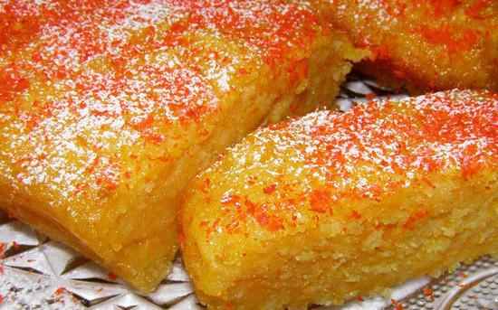 Пирог с тыквой постный