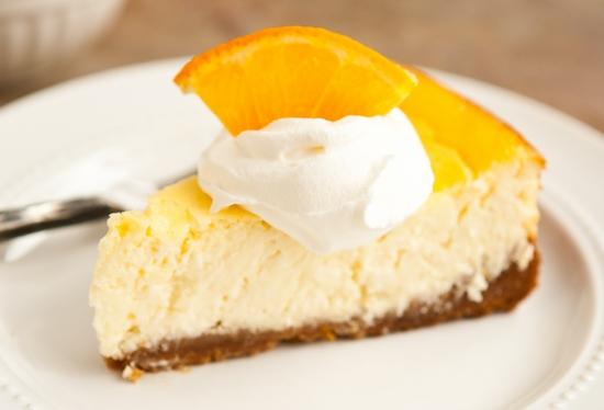 Нежный творожный чизкейк с апельсином