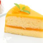 Пирог с творогом и апельсином