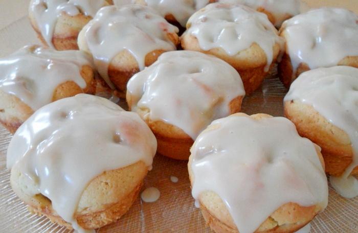 Кексы с сахарной глазурью (помадкой)